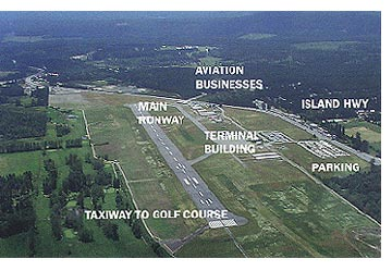 Nanaimo Airport Where The Air Highway Meets The Island